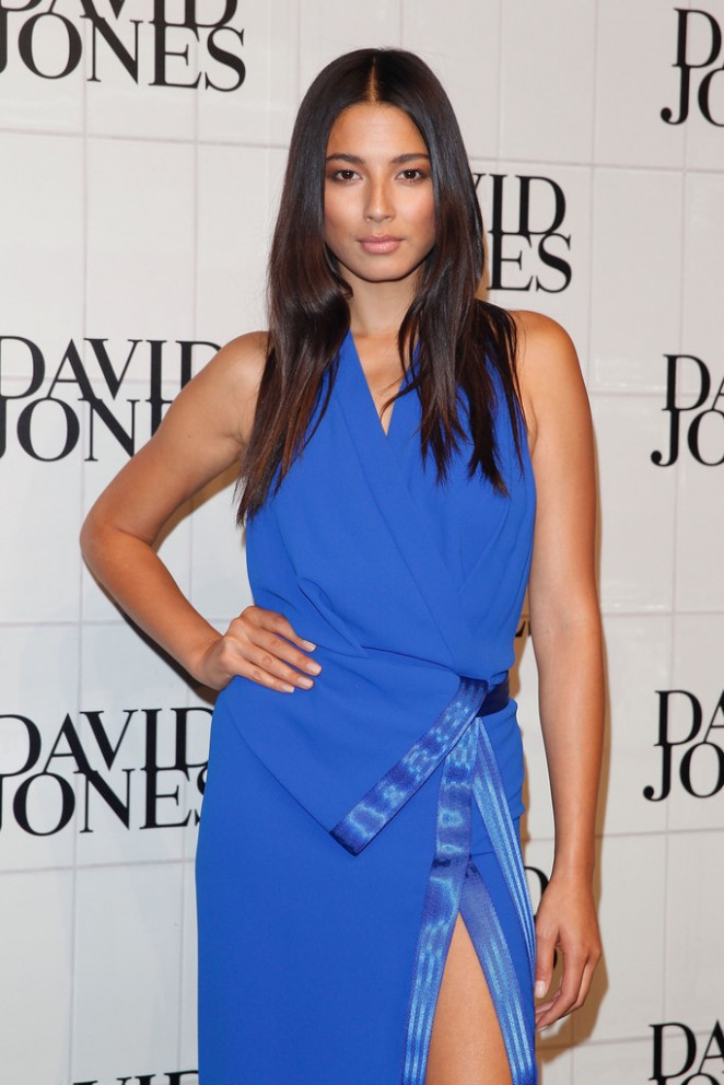 Jessica Gomes - David Jones Autumn/Winter 2015 Collection Launch in Sydney