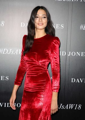 Jessica Gomes - David Jones AW 2018 Collections Launch Red Carpet in Sydney