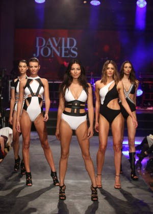 Jessica Gomes - David Jones S/S 2015 Fashion Launch in Sydney