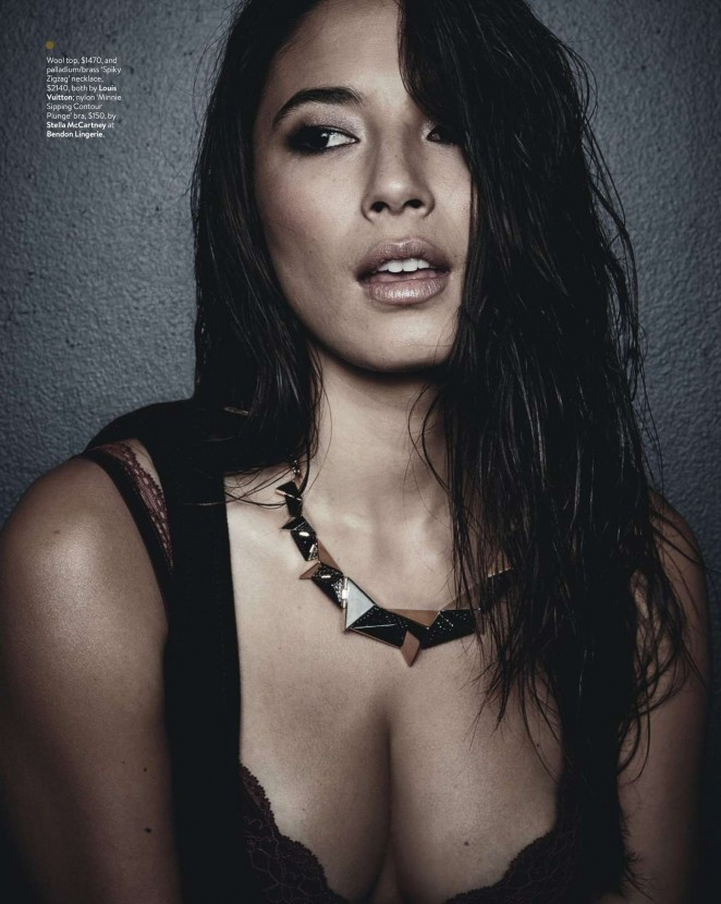 Jessica Gomes - GQ Australia Magazine (March/April 2015)