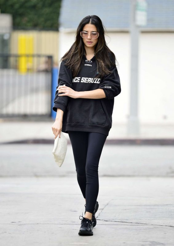 Jessica Gomes 2019 : Jessica Gomes – Leaving a morning gym session-06