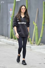 Jessica Gomes - Leaving a morning gym session in Los Angeles