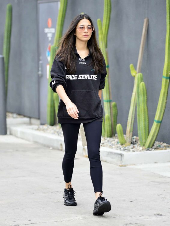 Jessica Gomes 2019 : Jessica Gomes – Leaving a morning gym session-09