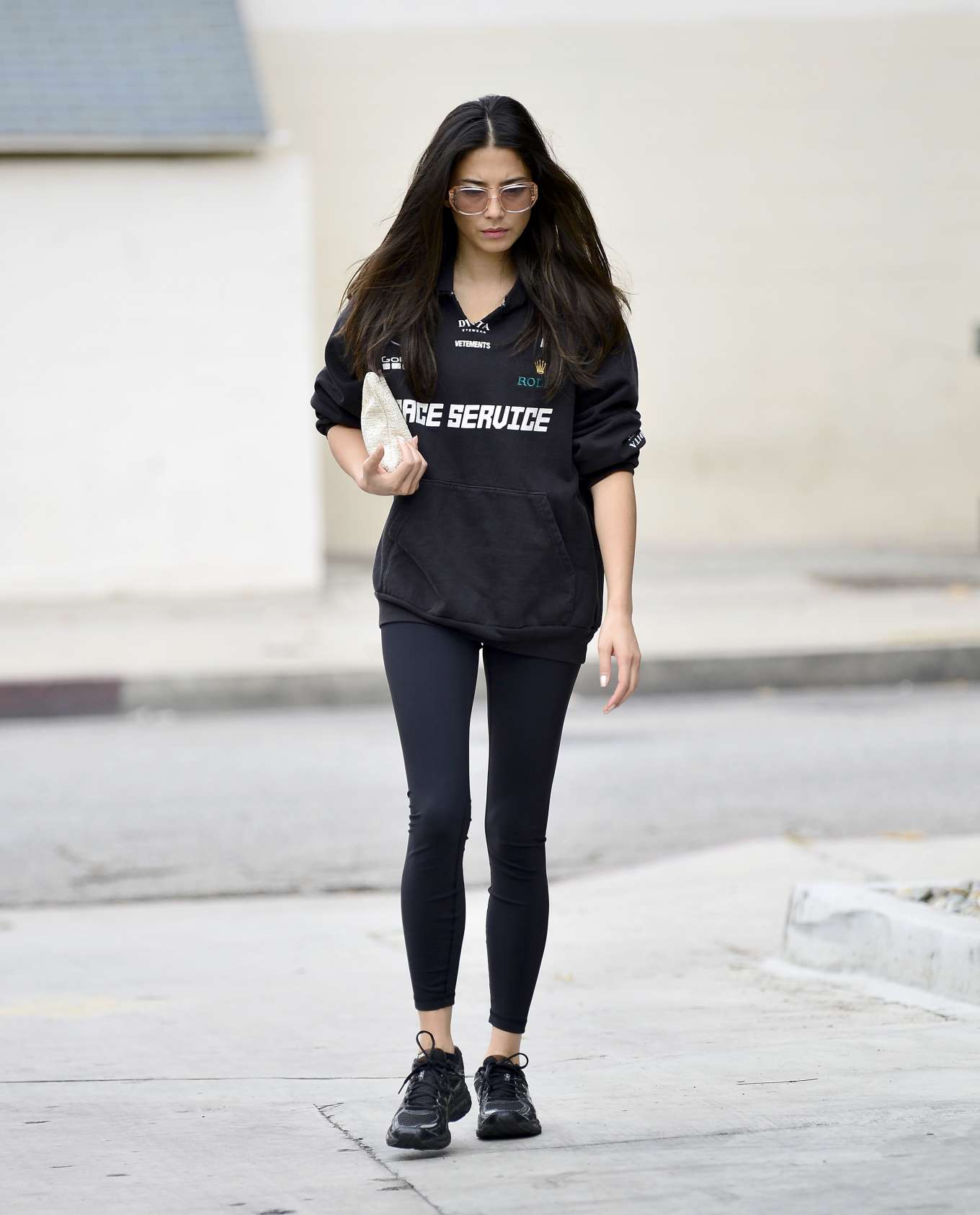 Jessica Gomes 2019 : Jessica Gomes – Leaving a morning gym session-11