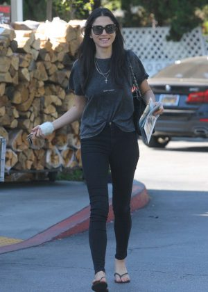 Jessica Gomes out in Beverly Hills