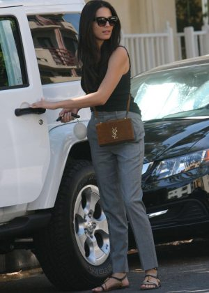 Jessica Gomes Out in West Hollywood