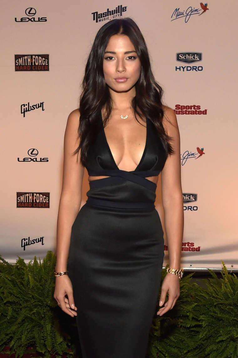 Jessica Gomes - SI 2015 Swimsuit Takes Over the Schermerhorn Symphony Center in Nashville