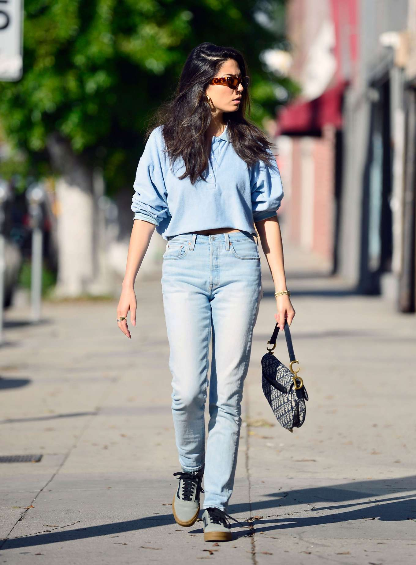 Jessica Gomes - Visits her agency in Los Angeles