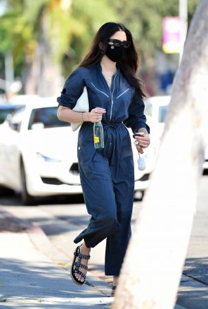 Jessica Gomes - Wears $500 jumpsuit in West Hollywood
