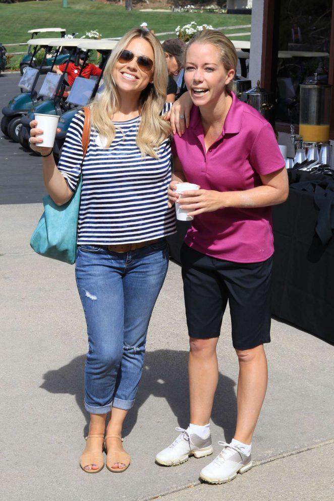 Jessica Hall and Kendra Wilkinson The Hank Baskett Classic Golf Tournament in Calabasas