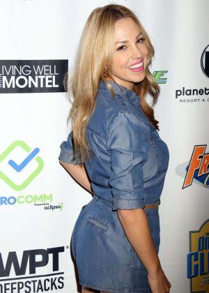 Jessica Hall - 'Raising The Stakes' Celebrity Poker Tournament in Las Vegas