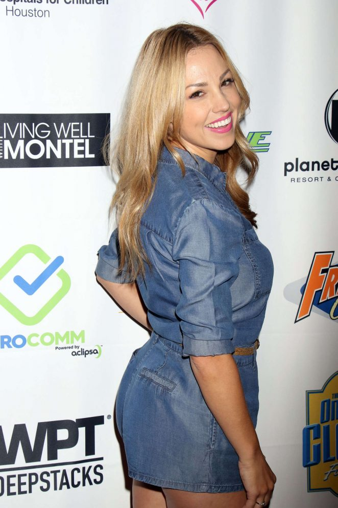 Jessica Hall - 'Raising The Stakes' Celebrity Poker Tournament in Las Vegas