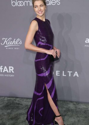 Jessica Hart - 2018 amfAR Gala in New York