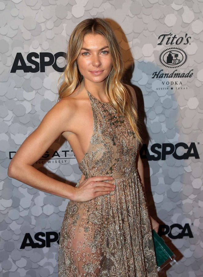 Jessica Hart - 21st annual ASPCA Bergh Ball in New York