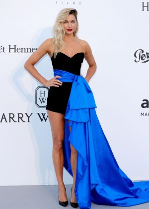 Jessica Hart - amfAR's 24th Cinema Against AIDS Gala in Cannes