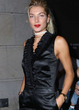 Jessica Hart - Chanel Jewelry Dinner in Honor of Keira Knightley in NYC