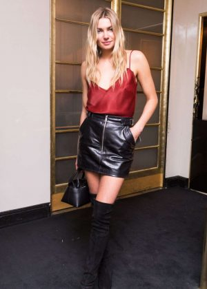 Jessica Hart - Frame Fifth Anniversary Dinner in New York