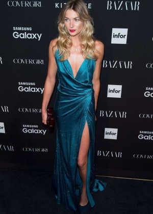 Jessica Hart - Harpers Bazaar ICONS Event in NY