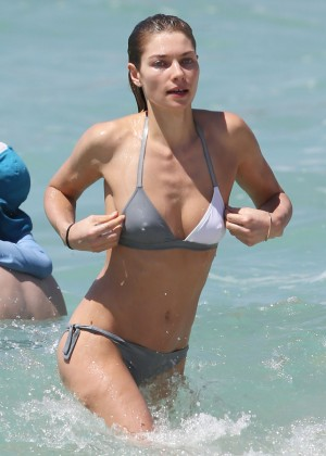 Jessica Hart in Bikini in Sydney