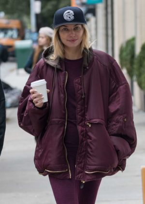 Jessica Hart out in New York City