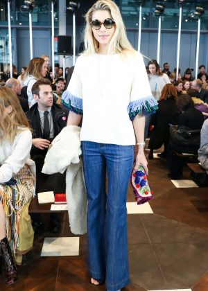 Jessica Hart - Tory Burch Show at 2017 NYFW in New York