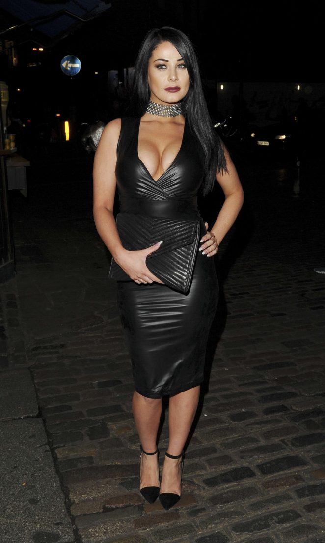 Jessica Hayes - Chloe Goodman x Opiah Cosmetics Launch Party in London