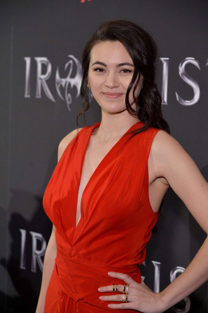 Jessica Henwick - 'Iron Fist' TV Series Premiere in New York