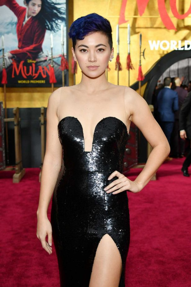 Jessica Henwick - 'Mulan' Premiere in Hollywood