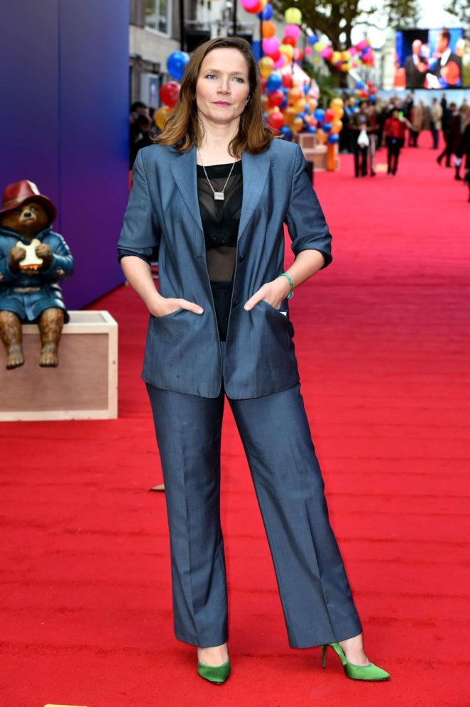 Jessica Hynes: Paddington 2 Premiere -18