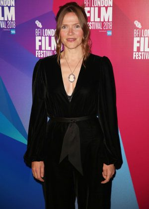 Jessica Hynes - 'The Fight' Premiere at 62nd BFI London Film Festival