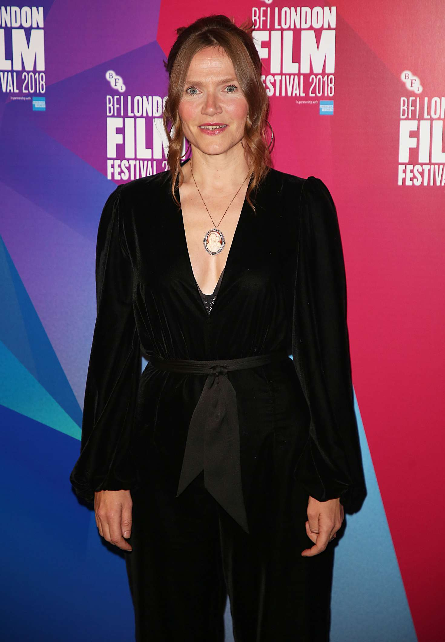 Jessica Hynes – 'The Fight' Premiere at 62nd BFI London Film Festival