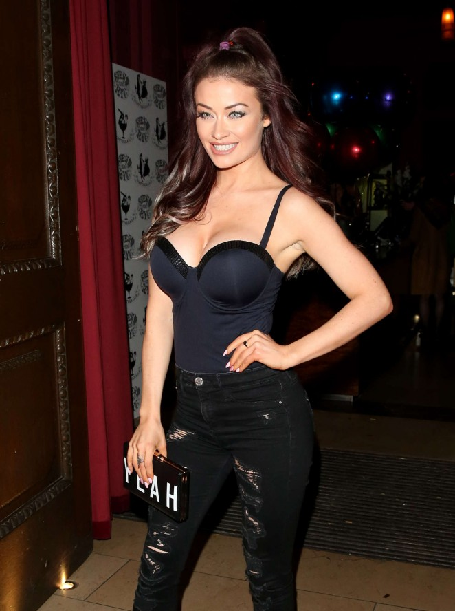 Jessica Impiazzi at Steam & Rye Club in London