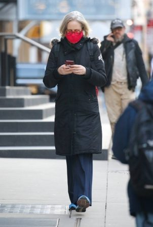 Jessica Lange - Out in SoHo - New York