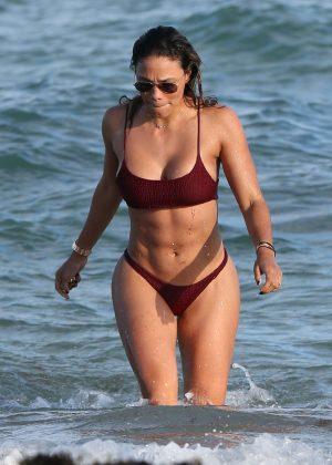 Jessica Ledon in Bikini on Miami Beach