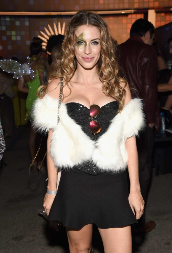 Jessica Lowndes - 2017 Tequila Casamigos Annual Halloween Bash in LA
