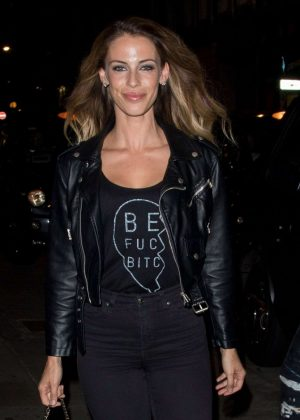 Jessica Lowndes Arrives at Bunga Bunga in London