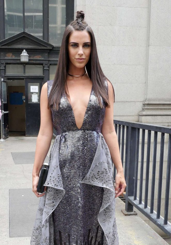 Jessica Lowndes at New York Fashion Week 2016 in NY