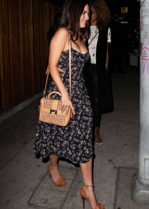 Jessica Lowndes at The Nice Guy Restaurant in West Hollywood