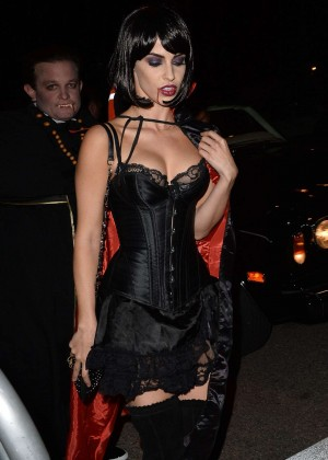 Jessica Lowndes - Casa Tequila Halloween Party in Beverly Hills