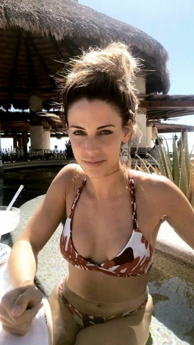 Jessica Lowndes in Bikini Social Media