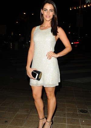 Jessica Lowndes in Mini Dress out in Cannes