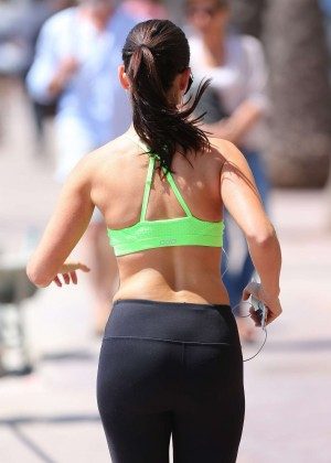 Jessica Lowndes Booty in Tights -04