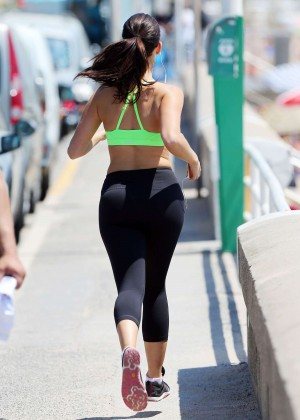 Jessica Lowndes Booty in Tights -09
