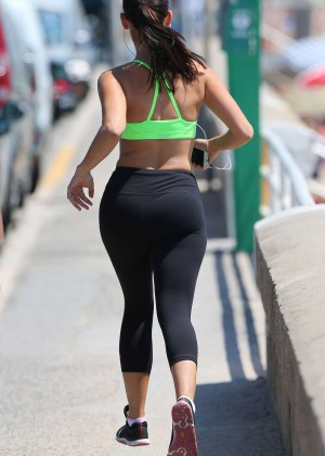 Jessica Lowndes Booty in Tights -22