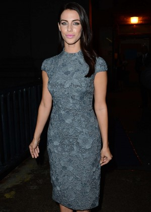 Jessica Lowndes - Monique Lhuillier Fashion Show Spring 2016 NYFW in NYC