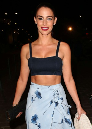 Jessica Lowndes in Tank Top Night Out in Cannes