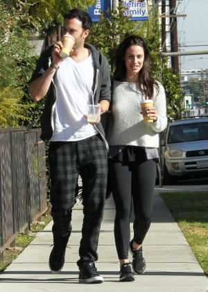 Jessica Lowndes out and about in LA