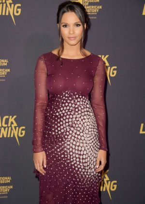 Jessica Lucas - 'Black Lightning' Premiere in Washington