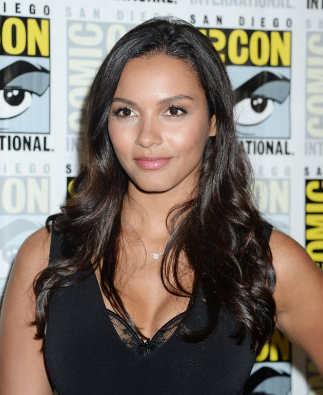 Jessica Lucas – Gotham Panel at Comic-Con-05
