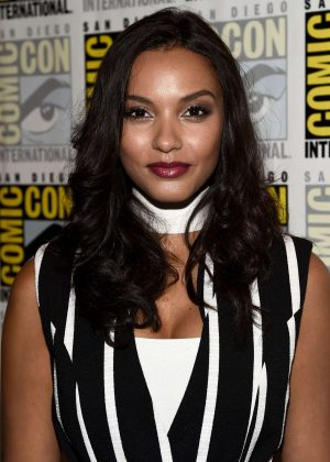 Jessica Lucas - 'Gotham' Press Line at Comic-Con International in San Diego